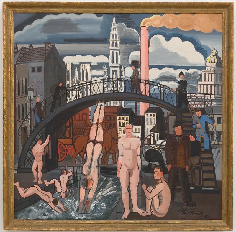 Jean Brusselmans, Le bain des Vagabonds. 1926.